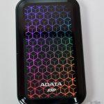 ADATA - Externen USB 3.2 SSD SE770G RGB