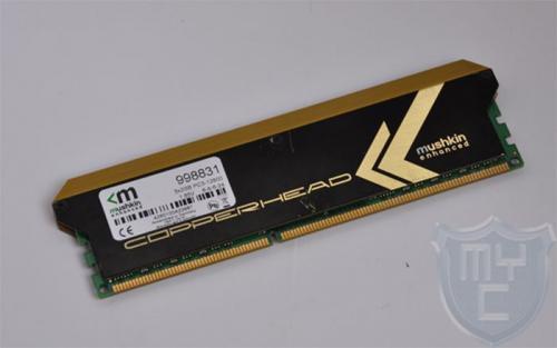 2 x 2GB 1600MHz CL6 Mushkin Copperhead