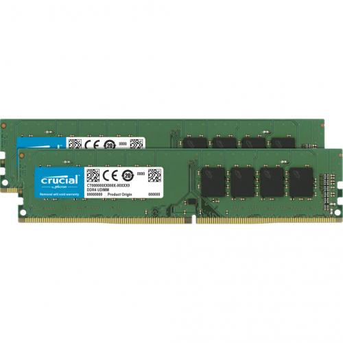 Crucial - 32GB Kit (2 x 16GB) DDR4-3200